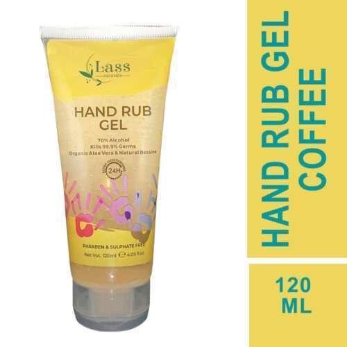 Sanitize Hand Rub Gel 70% Alcohol Based Sanitizer (Coffee) 120ml.